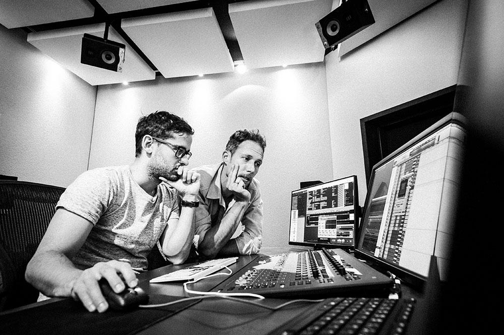 Fluchtpunkt Blautöne - Audio Postproduktion Tonstudio Wien